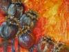 Nr.40 Mohnbluete 3 60x60  Leinwand / Acryl / Sand
