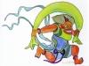 Nr. 314  Donnerwind  15x20 - 24x30  Mischtechnik