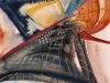 Nr. 125  Ballonfahrt  29x39  Papier / Aquarell
