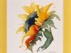 Nr. 70  Sonnenblume  30x40  Papier / Aquarell