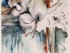 Nr. 79  Weisse Amarilis  33x36  Papier / Aquarell