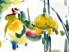 Nr. 121 Frühling III   29x39  Papier / Aquarell