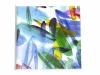 Nr. 328  Bunte Meereswelt II  10x10 - 20x20  Mischtechnik / Aquarell