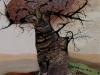 Nr. 237 Mein Freund der lachende Baum 47,5x62 - 60x80  Collage 2004 - Sorry, bin bereits vergeben !