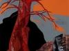 Nr. 239  Tango Baum  47,5x62 - 60x80  Collage